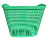 Colorful Plastic Bicycle Bike Basket pictures & photos