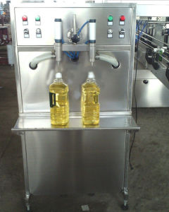 Cooking Oil Bottle Filling Machine Digital Display Function pictures & photos