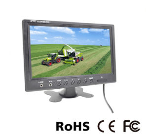 in-Car 9 Inch LCD Monitor for Headrest or Parking CCTV
