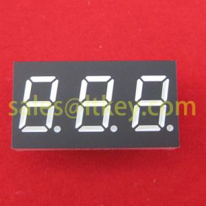 0.36 Inch 3 Digits 7 Segment LED Display pictures & photos