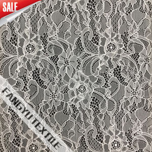 Fashion Nylon Eastic Lace Fabric for Dress