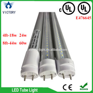 4FT 24W G13 2 Pins Day White 6000k cUL UL LED T8 Tube Light Lamp pictures & photos