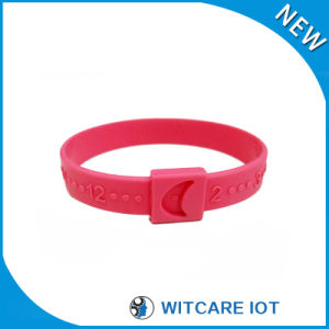 Environmental Friendly RFID Silicone Wristband for Swimming Pool