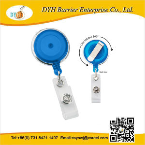 Retractable Badge Reel with Rotating Clip