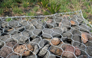 PVC Coated Gabion Basket pictures & photos