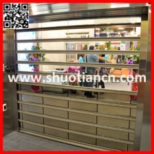 Commercial Remote Control Polycarbonate Automatic Door (ST-003) pictures & photos