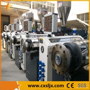 Promotion 16-32mm One Extruder Four Pipe PVC Pipe Extrusion Plastic Machinery pictures & photos