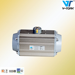 at Series Pneumatic Actuator, Rack Pinion Type. Rotary Quarter Turn