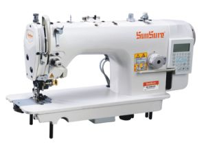 High Speed Computer Lockstitch Sewing Machine pictures & photos