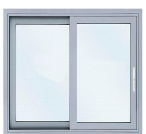Type Single Gl Aluminum Sliding Window With Touch Lock
