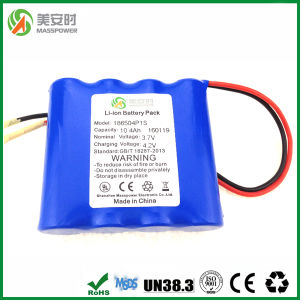 Top Brand Cells 1s4p Li-ion Battery Pack 10400mAh