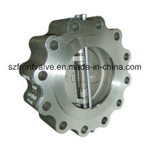 Cast Steel Lugged Type Duo Plate Check Valves pictures & photos