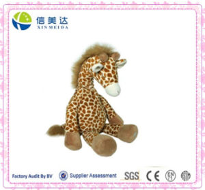 Gentle Soft Cuddy Musical Giraffe Plush Toy pictures & photos