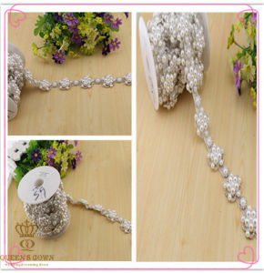 Wedding Dress Pearl Rhinestone Belts, DIY Accessories Trim