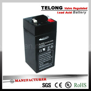 4V3ah Rechargeable Lead Acid Battery for Electric Equipment pictures & photos