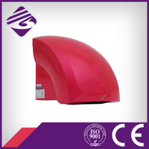 Red Wall Mounted Small ABS Hotel Automatic Hand Dryer (JN70904B)