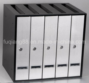 Wall Mount Stainless Steel Apartment Mailbox for 5 Sets pictures & photos