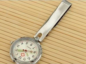 Hot Sell Japan Movement Nurse Alloy Watch