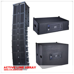 Stage Performance Concert Line Array Self Powered Audio System pictures & photos