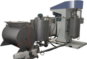 Stable Stainless Steel Compound Chocolate Ball Mill Line