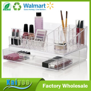 Premium Quality Cosmetic Storage and Makeup Palette Organizer with 1 Drawer