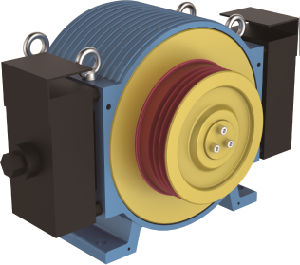 Out Rotor Series Villa Elevator Traction Machine