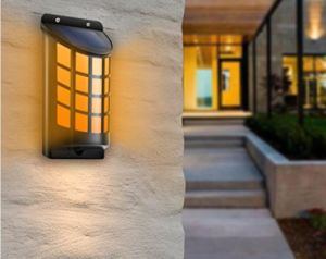 Solar Powered LED Outdoor Wall Light pictures & photos