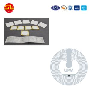 China Factory Price Aluminum Etched RFID Inlay /Label