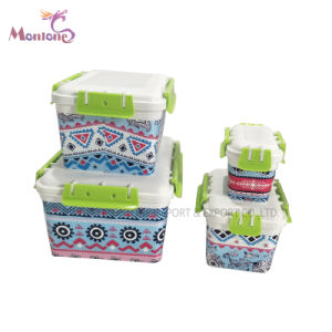 Air Tight Food Grade PP Food Box Food Storage Container Set of 4PC (450gr)  sc 1 st  Ningbo Monlone Imp. u0026 Exp. Co. Ltd. & China Air Tight Food Grade PP Food Box Food Storage Container Set of ...
