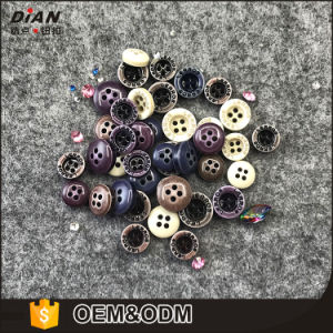 Dian, Garment Fashion Button Accessories, 4 Holes Resin Button for Clothes