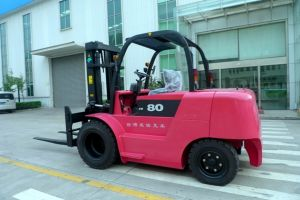 8t Feeler Battery Forklift with High Quality pictures & photos