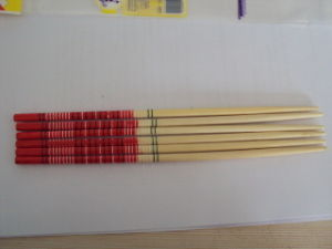 Chinese Kitchen Bamboo Chopstick (QW-DSC9341)