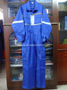 Coverall with Reflective Tapes High Quality