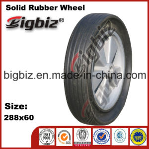 Qingdao 6X1.5 Hard Rubber Caster Wheel for Sale pictures & photos