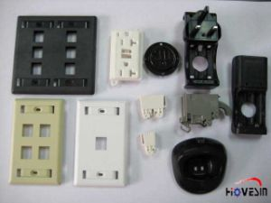 Plastic Injection Mold for Plug/ Jack/ Zip Tie Parts pictures & photos