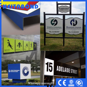 5*10feet 3mm ACP Aluminum Composite Panel for Sign Panel in USA Market pictures & photos