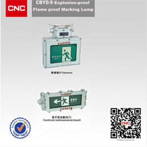 china cbyd dust explosion proof mark lamp china exit light