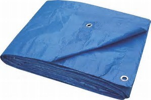 Finish Size Standard Duty Poly Tarp Reinforced Corners pictures & photos