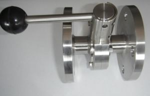 Food Grade Sanitary Stainless Steel Flange Ball Valve