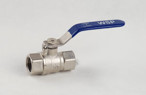 Brass Nickle Plated Female Thread Ball Valve (YD-BV92)