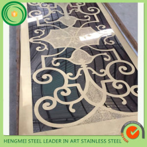 China Wholesale Websites 304 Elevator Cladding Stainless Steel Sheet Etching Surface From China Manufacture pictures & photos