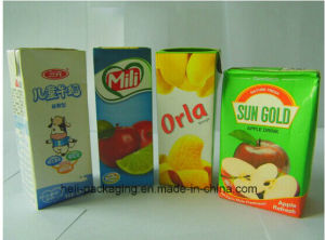 High Quality Uht Milk Packaging Paper pictures & photos