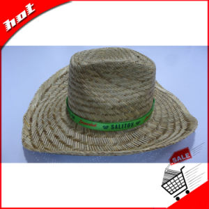 Mat Grass Straw Promotional Cowboy Hat pictures & photos