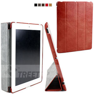 Treetop Top Layer Genuine Leather Case for iPad 2 Cover (A2PUMEBR02)