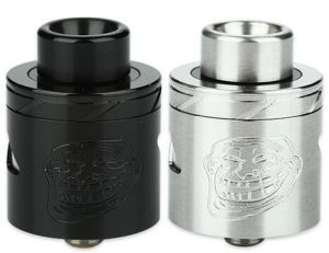 New Arrival Wotofo The Troll 25 Rda V2 Atomizer 25mm Diameter Two Post Build Deck E-Cigarette Tank with 2.7mm Bigger Wire Holes
