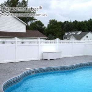 PVC Guardrail for Swimming Pool pictures & photos