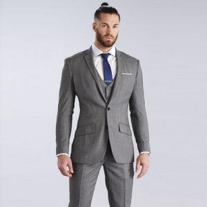 china latest design coat pant men office uniform design china men