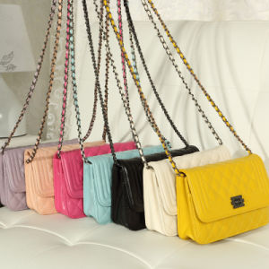 Many Colors Embroider Metal Long Chain Cross Shoulder Bag Xd140099