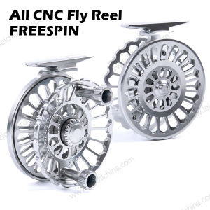 Exclusive Aluminum Metal Body All CNC Fly Fishing Reel pictures & photos