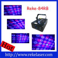 350mw Red and Blue Multi Patterns Twinkling Laser Light